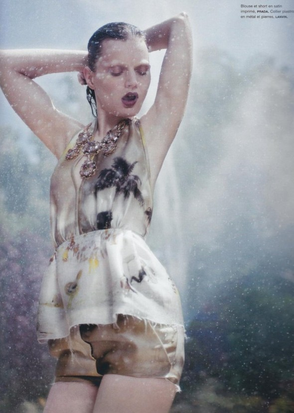 5 новых съемок: Elle, Harper's Bazaar, Numero и Vogue. Изображение № 28.
