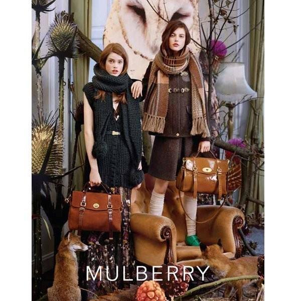 Изображение 1. Рекламная кампания и видео новой коллекции Mulberry.. Изображение № 1.