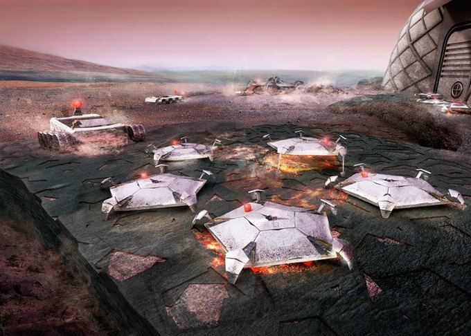 Архитекторы показали проект 3D-жилья для Марса