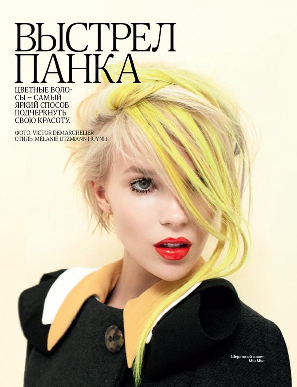 Съёмка: Виктор Демаршелье для российского Vogue. Изображение № 1.