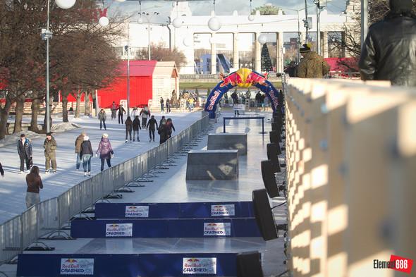 Red Bull Crashed ICE отборочный этап (Москва, Парк Горького). Изображение № 1.
