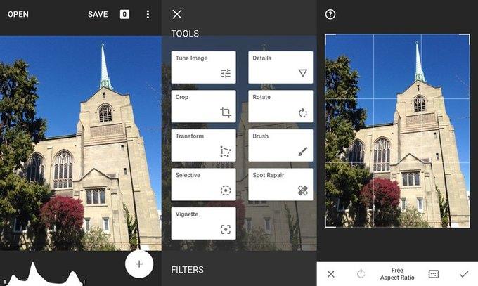 Google выпустил обновление для Snapseed . Изображение № 2.