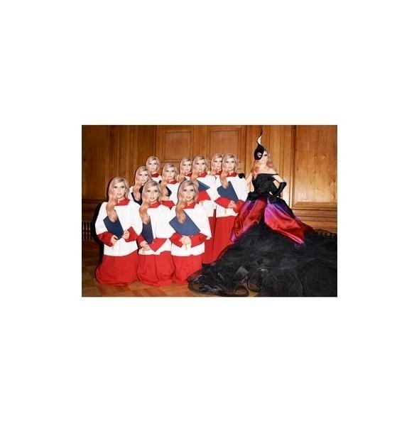 Леди Гага в кутюрном платье Dior. Изображение № 7.