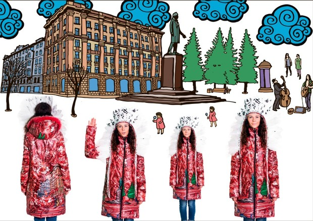 LOOKBOOK: ENA !! Самая весёлая  осень-зима 2012-13. Изображение № 8.