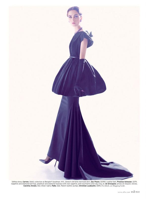 Съёмка: Сюзи Берд для Elle. Изображение № 4.