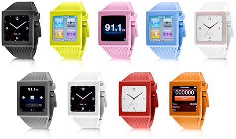 Элегантное превращение iPod nano в эффектные наручные часы. Изображение № 3.