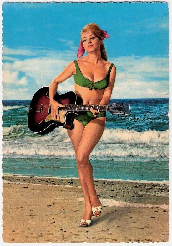 Немецкая открытка 1960 годов. Изображение № 36.