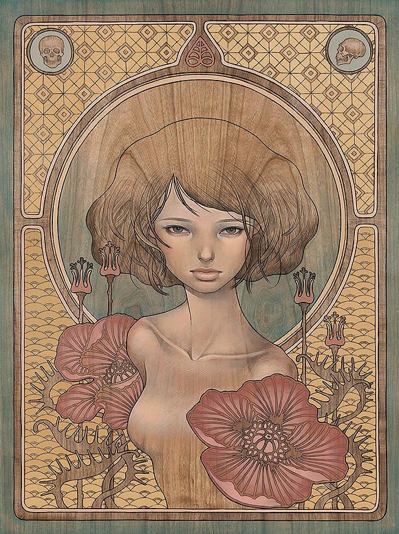 Новые работы Audrey Kawasaki. Изображение № 3.