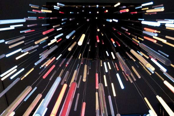 SOBRANIE LIGHT SYMPHONY интерактивная световая инсталля. Изображение № 4.
