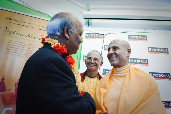 """Презентация книги Радханатха Свами """"Путешествие домой"""" 26.03.2012. Изображение № 18."""