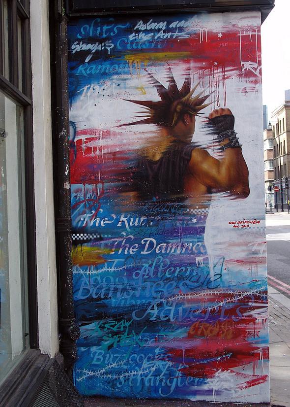 Стрит-арт в Лондоне. Изображение № 25.