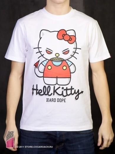 "Футболка Cocaroach ""Hell Kitty"". Изображение № 11."