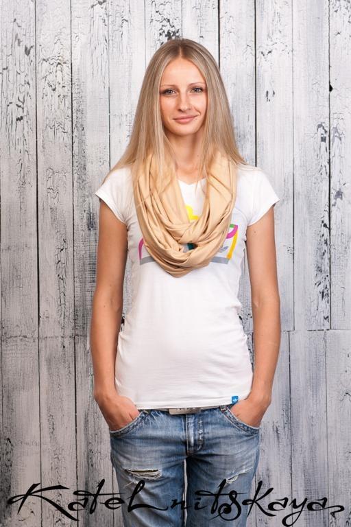 Осенняя коллекция ярких шарфов-снудов. Изображение № 4.
