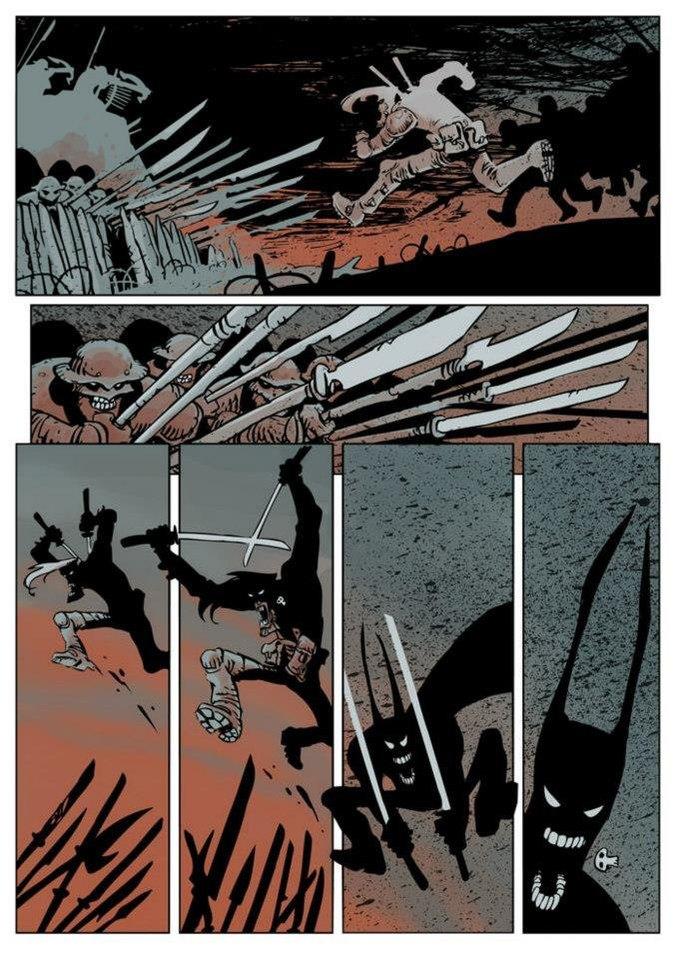 Автор комикса Undertow о любимых русских художниках. Изображение № 13.