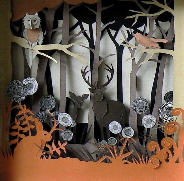 Бумажные картины-аппликации Helen Musselwhite. Изображение № 33.