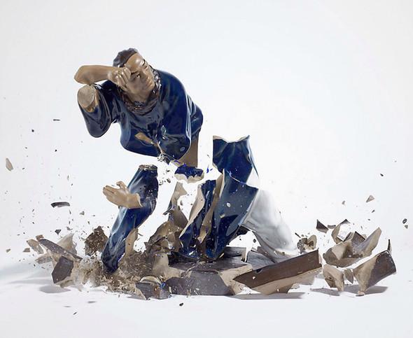 Когда разбитый фарфор становится искусством. Изображение № 5.