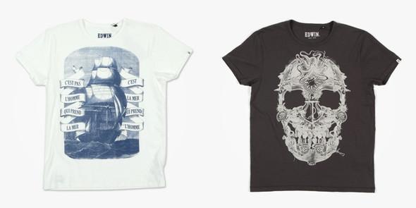 EDWIN. Японский деним, рубашки и футболки. Изображение № 17.