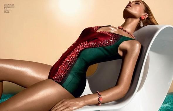Даутцен Крус для Vogue China. Изображение № 3.