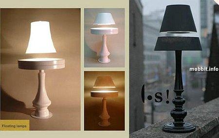 Лампы, парящие ввоздухе. Изображение № 1.