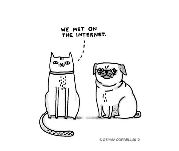 Gemma Correll и её коты. Изображение № 14.