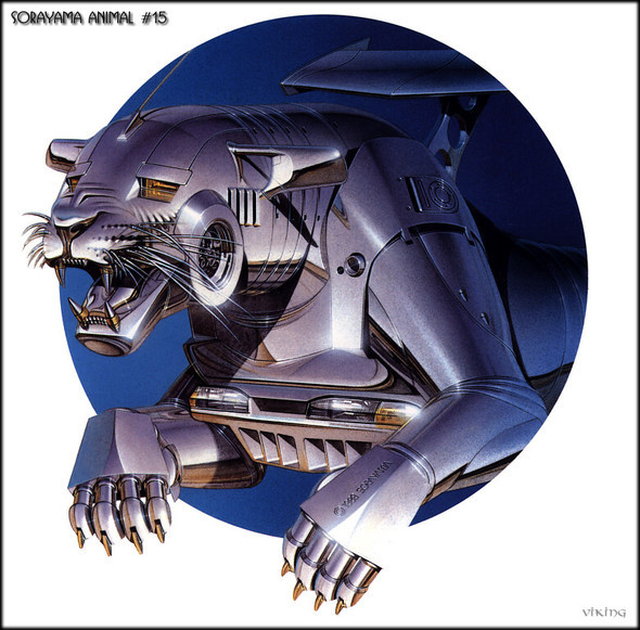 Японский художник Hajime Sorayama. Изображение № 7.
