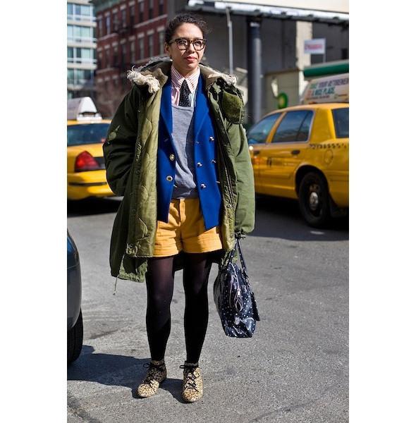 Изображение 27. На полях: 10 тенденций уличного стиля с прошедших недель моды.. Изображение № 27.