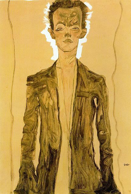 Эгон Шиле. Эротика вискусстве живописи ирисунка. Изображение № 6.