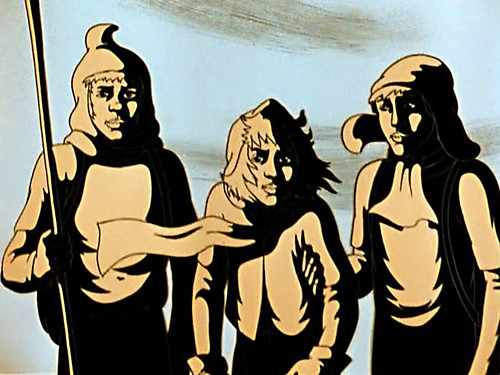 Персонажи фантастического мультфильма «Перевал». Изображение № 2.