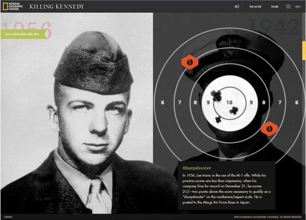 Интерактивный сайт показал историю жизни Джона Кеннеди. Изображение № 2.