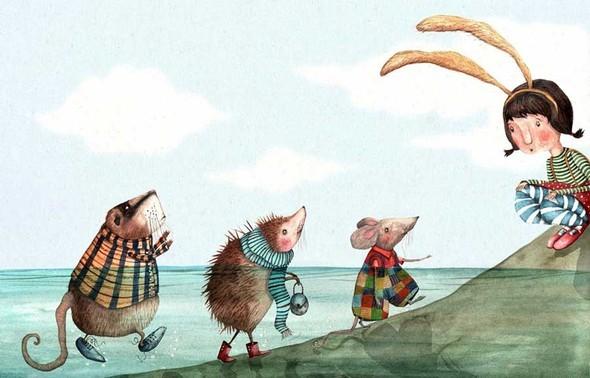 Иллюстратор Holly Clifton-Brown. Изображение № 2.