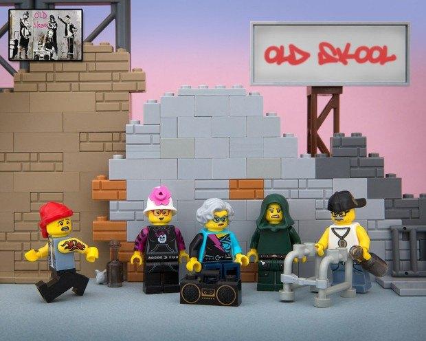Работы Бэнкси воссоздали в конструкторе LEGO. Изображение № 8.