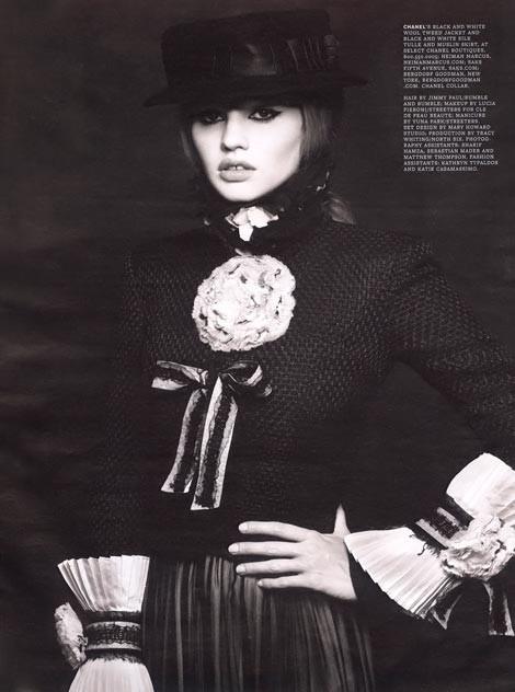 Lara Stone WAugust 2009. Изображение № 8.