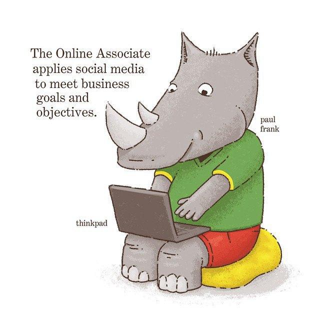 «Онлайн-партнёр использует социальные медиа, чтобы реализовать цели и задачи бизнеса». Изображение № 7.