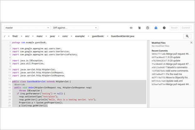 Google начал тестировать аналогGitHub. Изображение № 1.