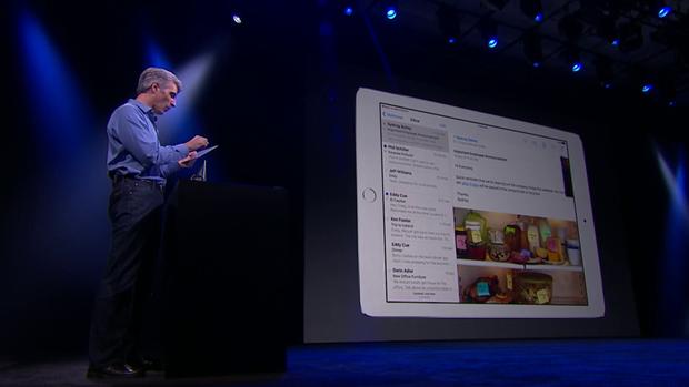 На WWDC рассказали омногозадачности вiPad. Изображение № 6.