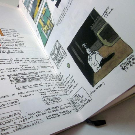 Moleskine Inspiration And Process In Architecture. Изображение № 9.