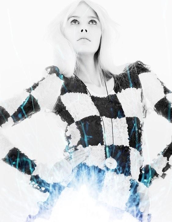 5 новых съемок: Elle, Harper's Bazaar, Numero и Vogue. Изображение № 10.