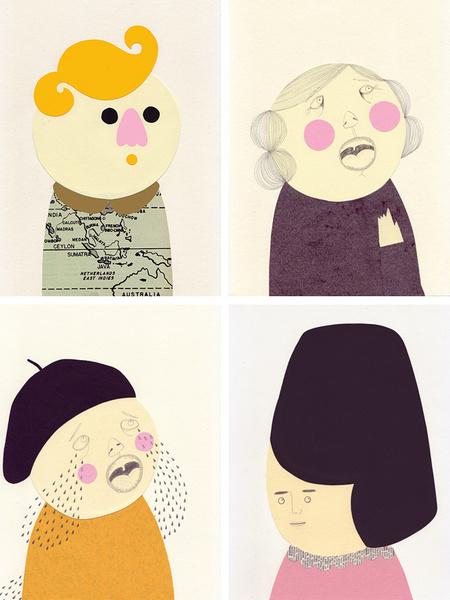 Милые уродцы виллюстрациях Sandra Juto. Изображение № 37.