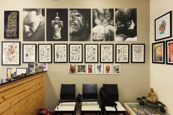 Рабочее место: Арт-студия тату-мастера Лаки Олело. Изображение № 16.