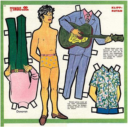 Бумажные куклы 1960-х годов!. Изображение № 7.