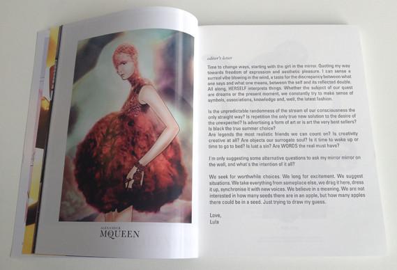 Журнал о моде Herself: только иллюстрации и никаких фотографий. Изображение № 5.