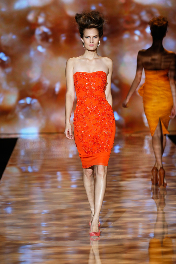 New York Fashion Week: Badgley Mischka Spring 2012. Изображение № 2.