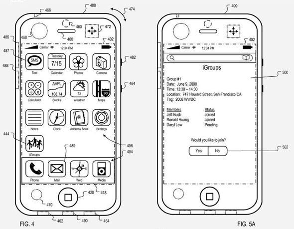 IGroups - Apple запатентовал соцсеть. Изображение № 2.