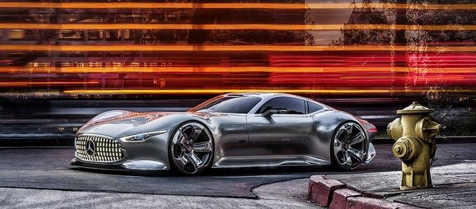 Mercedes-Benz разработала концепт спорткара для новой части Gran Turismo. Изображение № 6.