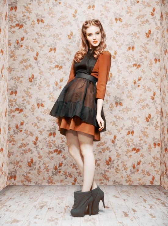 Коллекция осень-зима 2011/12 от Ульяны Сергиенко. Изображение №10.