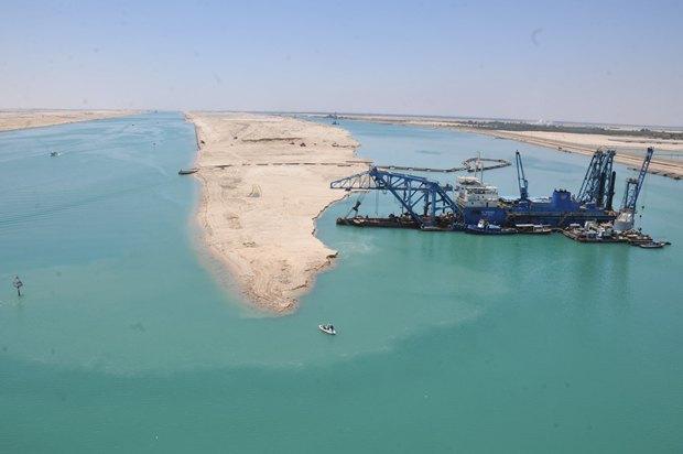 В Египте открыли «новый Суэцкий канал». Изображение № 1.