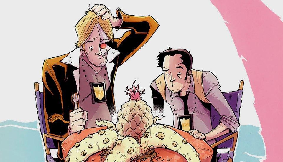 Как сделать захватывающий детективный комикс о еде. Изображение № 2.