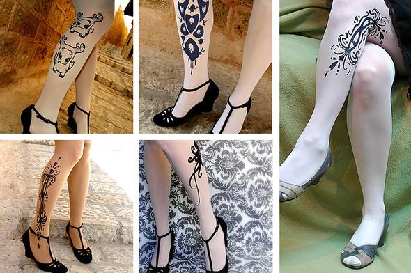 Носки, татуировки исексуальность. Изображение № 2.