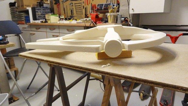 Энтузиаст построил дрон в виде «Тысячелетнего сокола». Изображение № 11.