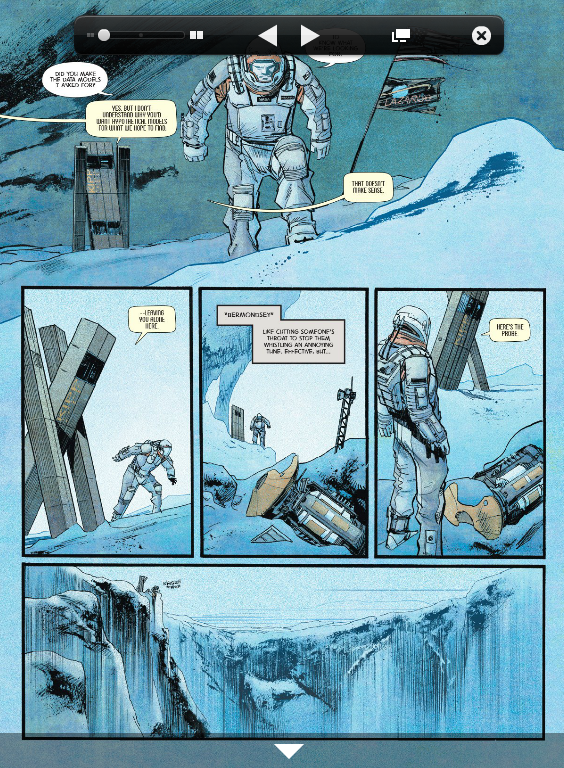 В Сеть выложили комикс-приквел к «Интерстеллару». Изображение № 3.